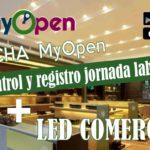 Campaña Negotium Tecnología LED + Ficha MyOpen